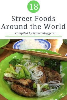 Street Food Around the World: 18 Dishes to Try!