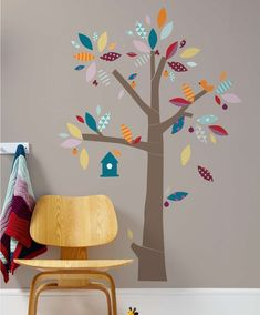 #mamasandpapas #dreamnursery Patternology - Tree Wall Stickers - Patternology - Mamas & Papas #NurseryStickers