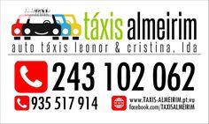 TÁXIS ALMEIRIM   ATLC - Telefone: 243 102 062 Serviço de Táxi em ALMEIRIM…