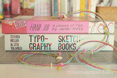 Entre libros… Typography