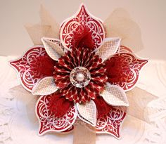 delight version of the Stampin' Up! 2012 paper Christmas ornament ...