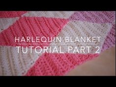CROCHET: Harlequin / Diamond blanket Part 2 | Bella Coco