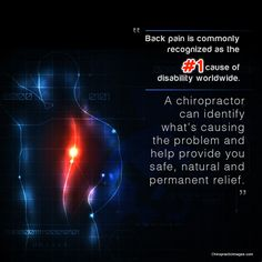 If your suffering with back pain, knowing chiropractic can and does help not only relieve symptoms but many times prevent them from returning.then what are you waiting for? Chiropractic Clinic, Family Chiropractic, Chiropractic Wellness, Regenerative Medicine, Back Pain Relief, Health Center, Natural Healing, Take Care Of Yourself, Health Care