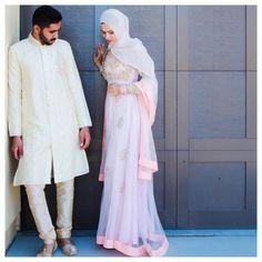 Desi Pakistani Indian Bengali pastel hijab