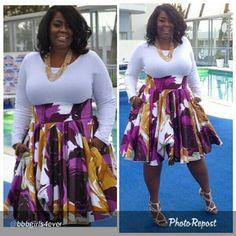 Nice A-line skirt