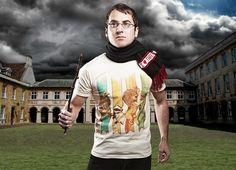 """House Brawl"" - Threadless.com - Best t-shirts in the world"