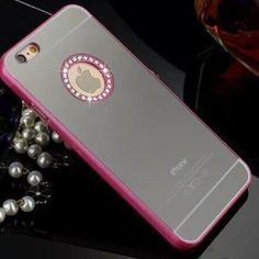Pink diamond mirror case for iphone6 plus All colors available for iphone6/6S and iPhone 6 Plus if your model and color not listed please kindly ask me to make a listing for u. Thank you plz check my other Mk cases. Accessories Phone Cases