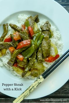 Pepper steak is a mainstay of American Chinese restaurants. This version gets a boost in flavor and spiciness that raises the bar.