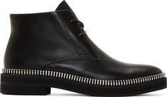 60348bfc2d7 Alexander Wang Black Zipper Trim Emmett Boots Only Shoes