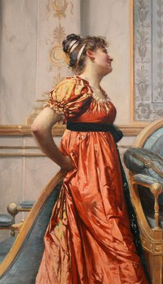 Detail    FRANCOIS BRUNERY 1849 - 1906    ITALIAN/FRENCH ACADEMIC CLASSICAL PAINTER