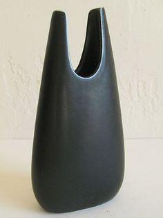 Vtg 50's Gunnar Nylund Rorstrand Sweden Danish Modern Art Pottery Sculpture Vase