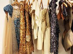 Oh how do I love sequin dresses. sigh.