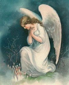 May you have wonderful dreams of beautiful things, whilst wrapped in your Guardian Angel's wings. Vintage Illustration, I Believe In Angels, Psy Art, Angel Pictures, Angels Among Us, Angels In Heaven, Heavenly Angels, Mystique, Guardian Angels