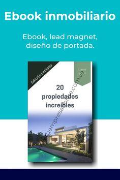 Diseño de ebook o lead magnet inmobiliario, capta mas clientes con un opt-in. Cover Design, Cover Pages
