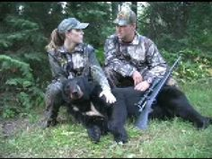 Pin 8: Bear Hunting-Something from my bucket list.  #bareMinerals #READYtowin