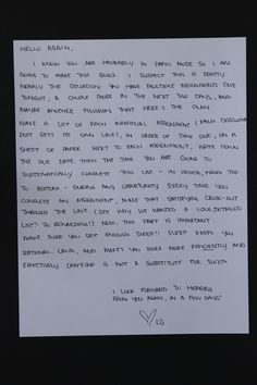 romantic dating letters distance