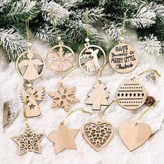 クリスマス ウォール ツリー インテリア北欧 オーナメント12個セット✳︎とっても繊細で可愛いオーナメントとなります。ツリーハートエンジェル星型トナカイ雪の結晶 etc...沢山のデザインでナチュラル 可愛い木製 オーナメントオリジナルウォールツリー クリスマスツリー 流木ツリー などの飾りオーナメント として✳︎麻紐ビーズ付届いてすぐに飾っていただけます飾り付けを楽しんでくださいませ【サイズ】画像5枚目参照※サイズに多少の誤差ございます【素材について】天然素材 木材となります。色ムラやかけ、多少のひびなどある場合もございます。なるべく綺麗なものを選びますが自然の風合いとしてご理解よろしくお願いいたします。【発送について】クリックポストにて発送致します(o^^o)木製 北欧 クリスマス オーナメント ウッド 西海岸 カリフォルニア サーフスタイルお好きなかたリトアニア ドイツ 木製 流木ラダー、ピンチハンガー、タペストリー、ウォールシェルフ、流木ツリー、ウォールツリー、ハンガー、飾り棚、キーフック 海を感じるインテリア 店舗用インテリア サーフショップ… Wooden Ornaments, Hanging Ornaments, New Years Decorations, Christmas Tree Decorations, Wooden Tree, Diy Holz, Diy House Projects, Xmas Tree, Christmas Time