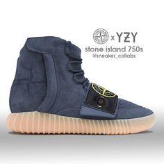 Yeezy 750 x Stone Island (tag a hypebeast)