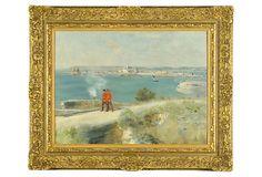 Raffaëlli, Deux Militaires À Jersey on OneKingsLane.com