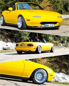TopMiata on Instagram   Mazda Miata MX-5 - TopMiata Mx5 Parts, Thing 1, Mazda Miata, Mk1, Cool Cars, Passion, Yellow, Colors, Classic