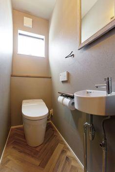 Modern Toilet, Small Toilet, Muji Home, Interior And Exterior, Interior Design, Toilet Design, Bathroom Interior, Entryway Decor, Diy Home Decor
