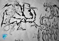 My Drawings, Arabic Calligraphy, Art, Arabic Handwriting, Craft Art, Kunst, Arabic Calligraphy Art, Gcse Art, Art Education Resources