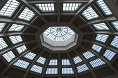 State Library Melbourne - this is the spectacular dome!! The LaTrobe reading room is where you will find this!