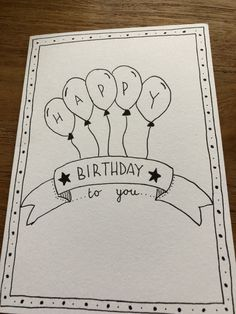 The Effective Pictures We Offer You About DIY Birthday Cards for women A quality picture can tell you many things. You can find the most beautiful pictures that can be presented to you about DIY Birth Birthday Doodle, Birthday Card Drawing, Birthday Diy, Diy Birthday Gifts For Him, Creative Birthday Cards, Handmade Birthday Cards, Happy Birthday Cards, Ideas For Birthday Cards, Friend Birthday Card