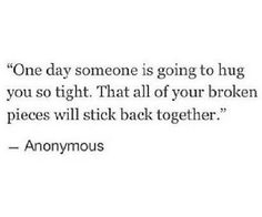 One Day....