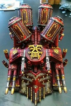 Khorne Murdertrain!!! Counts as Daemonkin Landraider.