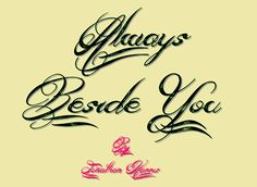 Always Beside You free font #FreeFont from http://ortheme.com