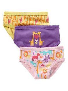 Zoo animal underwear (3-pack) | Gap