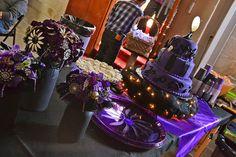 Nightmare before Christmas themed wedding