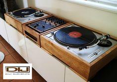 My take on a home decor DJ setup