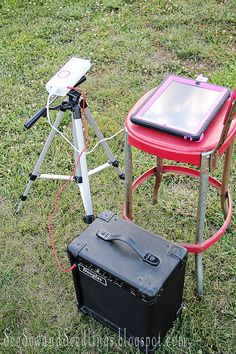 Summer Backyard Movie Fun With Your IPad And Pocket Projector!