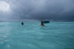 Stormy skies in Grand Cayman.  | mjsailing.com | sailing blog