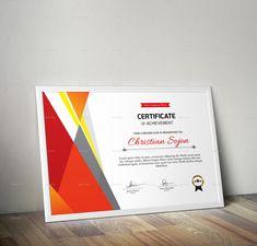 Certificate #Ad #Certificate Free Portfolio Template, Certificate Of Appreciation, Certificate Templates, Illustration Art, Creative, Color, Colour, Colors
