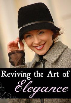 Reviving the Art of Elegance