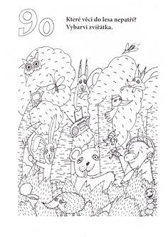 co nepatří do lesa Diagram, Teaching, Map, Kids, Animals, Young Children, Boys, Animales, Animaux