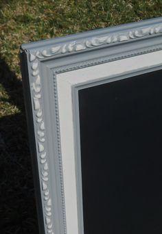 Framed Chalk BoardGrey Vintage Framed Chalk Board by AtticJoys1, $55.00