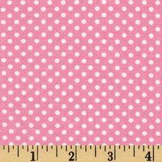 Tiny Pink Polka Dot