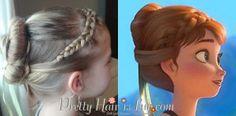 Pretty Hair is Fun: Anna Coronation Hairstyle