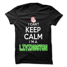 Keep Calm LIVINGSTON... Christmas Time - 0399 Cool Name - #tee quotes #disney sweatshirt. BUY TODAY AND SAVE => https://www.sunfrog.com/LifeStyle/Keep-Calm-LIVINGSTON-Christmas-Time--0399-Cool-Name-Shirt-.html?68278