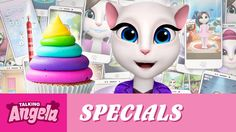 my talking angela - anniversary and gameplay easter egg