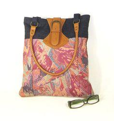 Shoulder Handbag  Handmade bag in Tapestry and by EvaScottDesign, $65.00