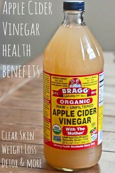 2 Tlbs Apple Cider Vinegar, 1 Tlb raw honey and lemon juice,  in 8-10 oz water. Drink first thing in am and/or before bed. Hot or cold. Can take several times per day. Every night at least 1 hr before bed (knocks you out to detox body), and first thing in am to wake body up (before brushing teeth) Only use the brand Braggs organic brand. Others are too acidic. For face: put on cotton ball and dab it on acne. Also helps heartburn!