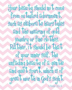 Printable Verse for girls room