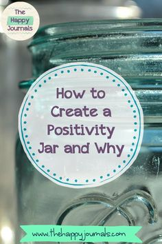 Creating a Positivity Jar: Honestly, all you need to do this task is a jar, some scraps of paper, and a pen. Oh, and maybe your brain. | Happiness | Achievement | Gratitude | Habits | Positive Mindset