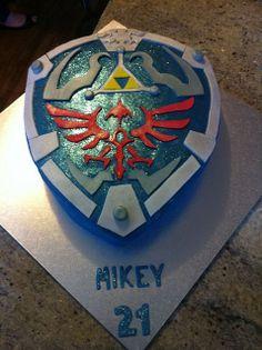 Very well done Legend of Zelda: Hylian Shield Cake