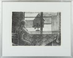 Veikko Vionoja, 1979, litografia, edition XVIII/XXXV - Hagelstam A131